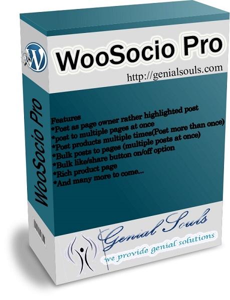 WooSocio Pro V1.1 Released