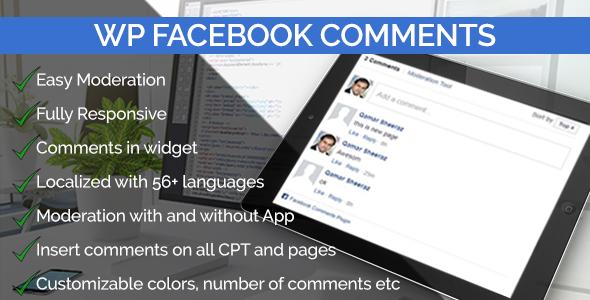 WP Facebook Comments Pro